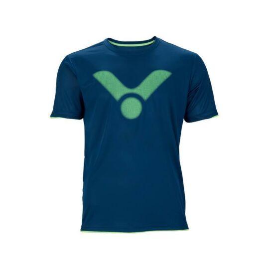 Victor T-03103 B férfi tollaslabda, squash póló (kék)