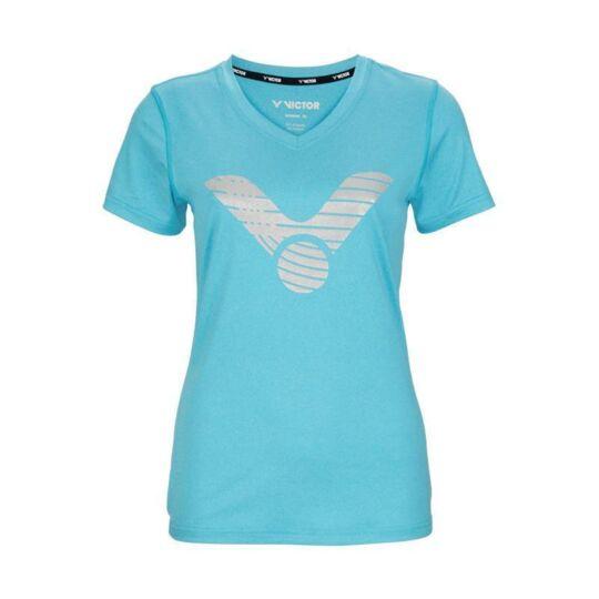 Victor T-04104 M női tollaslabda, squash póló (világoskék)