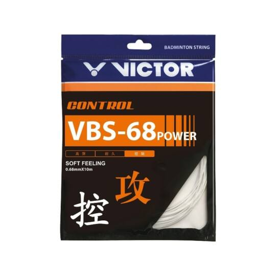 Victor VBS-68 Power tollaslabda húr - 10 m (fehér)