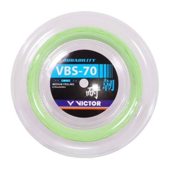 Victor VBS-70 tollaslabda húr tekercs - 200 m (zöld)