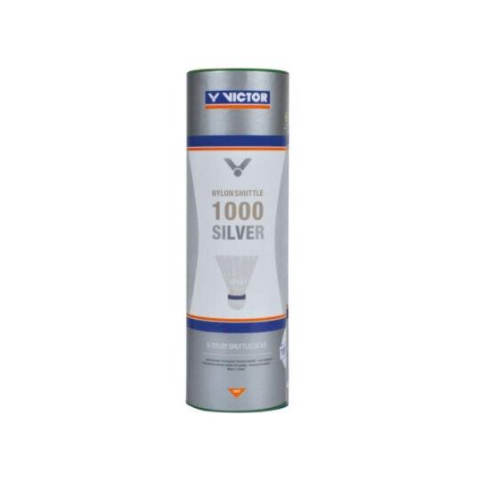 Victor 1000 műanyaglabda - 6 darab (fehér - gyors sebesség)