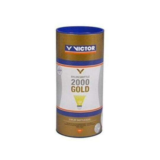 Victor 2000 műanyaglabda - 3 darab (sárga - médium sebesség)