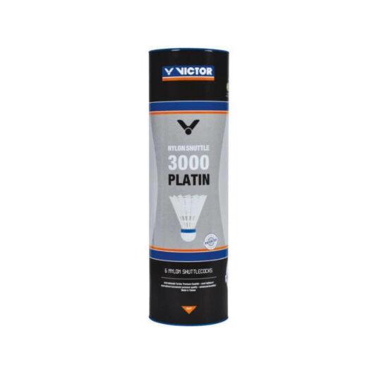 Victor 3000 műanyaglabda - 6 darab (fehér - médium sebesség)