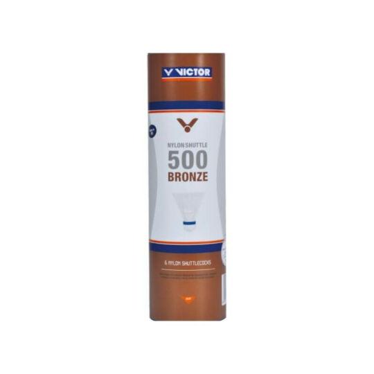 Victor 500 műanyaglabda - 6 darab (fehér - médium sebesség)