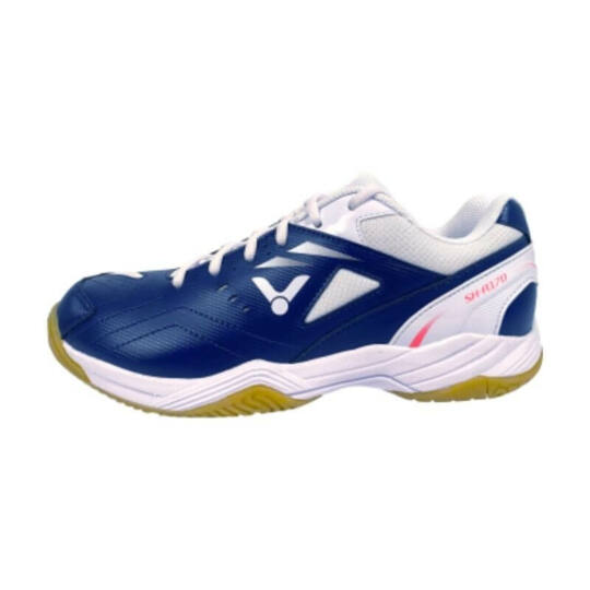 Victor A170 BA gyerek tollaslabda cipő, squash cipő (sötétkék-fehér)