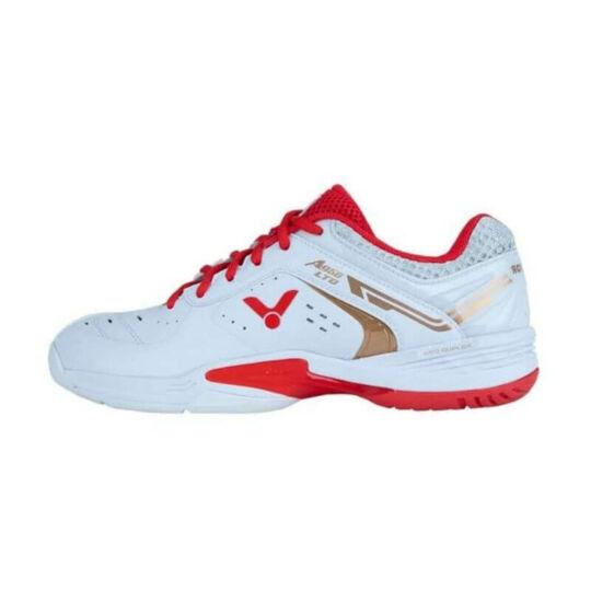 Victor A950LTD AD gyerek tollaslabda cipő, squash cipő (fehér-piros)
