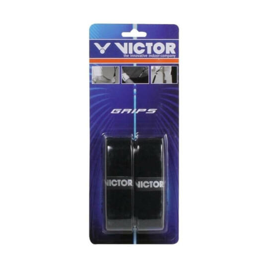 Victor frotír tollaslabda grip csomag - 2 darab (fekete)