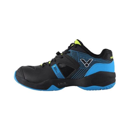 Victor P9200II C gyerek tollaslabda cipő, squash cipő (fekete-kék)