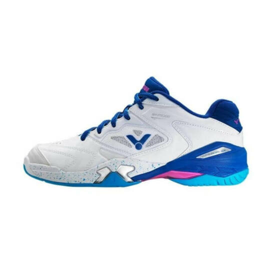 Victor SH-P9200 AB férfi tollaslabda cipő, squash cipő (fehér-kék)