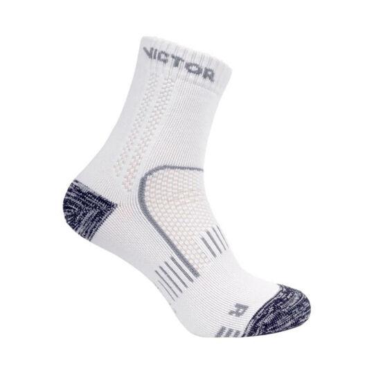 Victor SK Ripple tollaslabda zokni, squash zokni - 2 pár (fehér-szürke)
