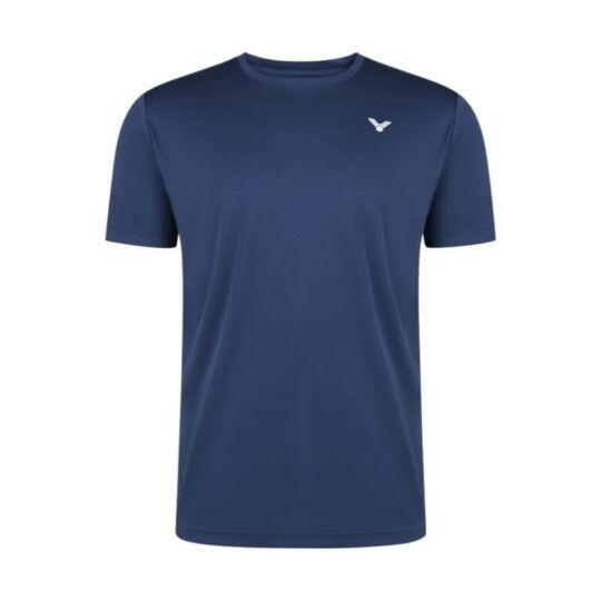Victor T-13102 B férfi tollaslabda, squash póló (sötétkék)
