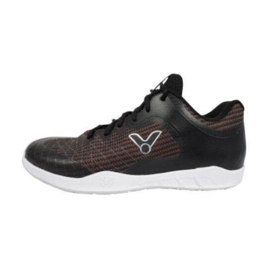 Victor VG1 C gyerek tollaslabda cipő, squash cipő (barna-fekete)