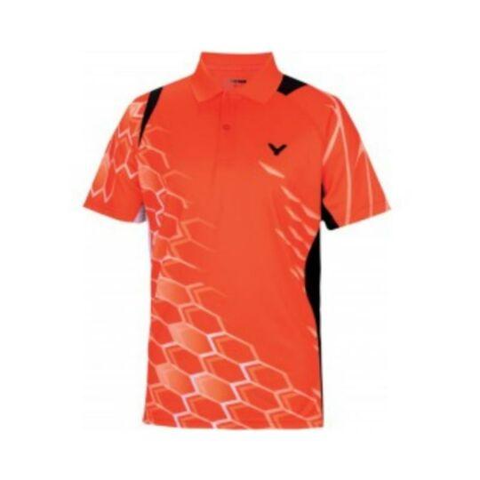 Victor 6265 National férfi tollaslabda, squash póló (narancssárga)